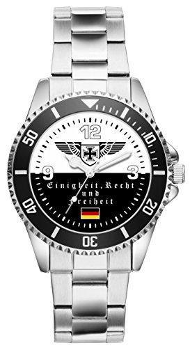 Soldat Geschenk Bundeswehr Artikel Idee Fan Uhr 6036
