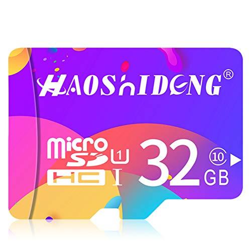 Tarjeta de Memoria - Tarjeta TF (Micro-SD) de 32 GB con Adaptador SD