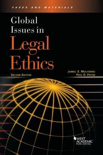 Moliterno, J:  Global Issues in Legal Ethics