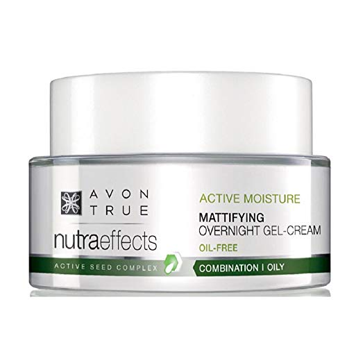 Avon True Nutra Effects Active Moisture Mattifying Overnight Gel Cream-SPF15-50ml