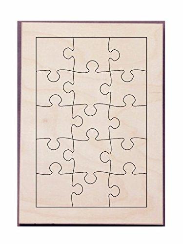 """Puzzle Maker Die Make Puzzle26x17cm-15PCS Seel Rule Puzzle Die Size 11.7""""x8.3""""x5/8"""""""
