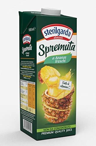 Sterilgarda Spremuta Ananas - Pacco da 12 x 1000 ml