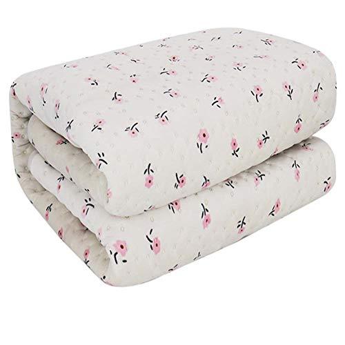 CRYX elektrische deken: dubbele verwarmingsdeken 200 x 180 cm met 30-60 warmtestanden en 4 standen, die stopwatch mogelijk zijn, polyester fleece, wasbaar
