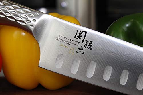貝印KAI三徳包丁関孫六匠創ディンプル165mm日本製AB5157