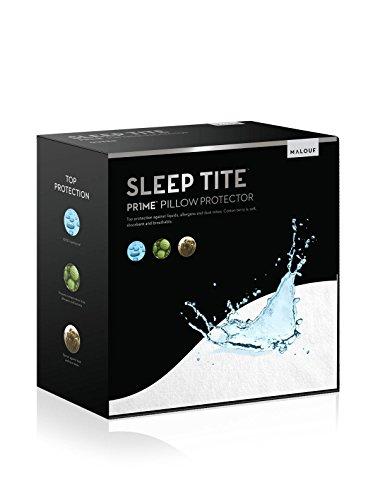 Sleep Tite by Malouf Hypoallergenic 100% Waterproof Pillow Protector- 15-Year Warranty