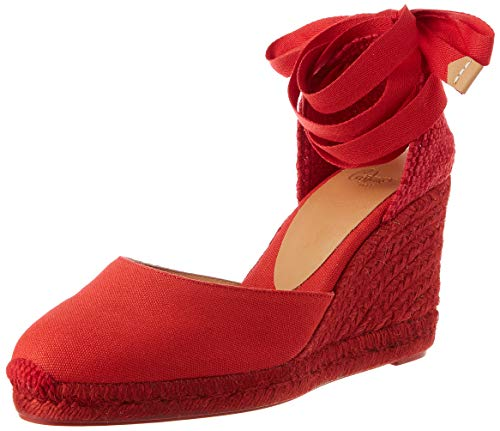 Castañer Carina  Zapatillas Mujer  Rojo Rubi  38 EU