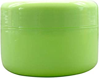 Useful 5Pcs Empty Plastic Makeup Jars Pots Travel Face Cream Lotion Cosmetic Containers (20g, Green)