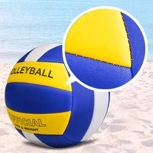 BESLIME Beachvolleyball, Soft Touch Volleyball für Outdoor/Indoor Spielbälle Größe 5