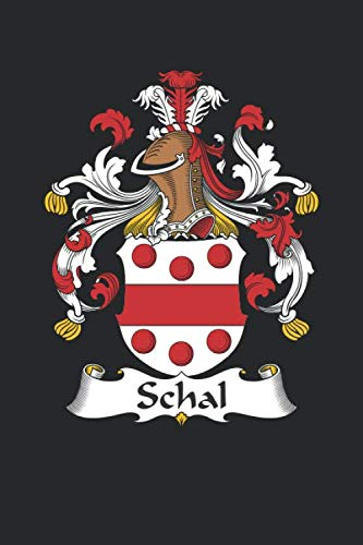 Schal: Schal Coat of Arms and Family Crest Notebook Journal (6 x 9 - 100 pages)
