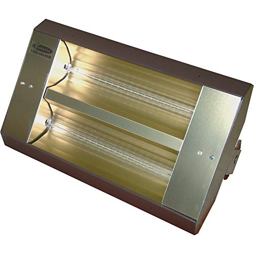 Why Choose TPI TH Series MUL-T-Mount Electric Quartz Infrared Heater - 10,922 BTU, 240 Volts, Galvan...