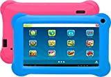 Denver Electronics TAQ-70353KBlue/Pink 8 GB Kinder-Tablets, 1,2 GHz, 1 GB, DDR3-SDRAM, 8 GB, MicroSD (Transflash), 32 GB, 17,8 cm (7 Zoll) -