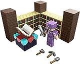 Minecraft Mesa de hechizos Set de juego con figura y accesorios, juguete para niños +6 años Mattel GYB62