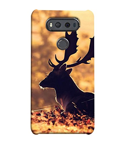 Printvisa Designer Back Cover for LG V20 Dual H990Ds, LG V20 Dual H990N (Hunting Sunlight Wildlife Autumn Woodland Hunting Beautiful Morning)