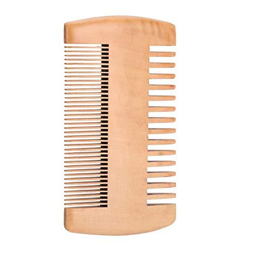 Barba de madera Peine de madera Herramienta para peinar el cabello Cepillo para cabello Soomth para uso doméstico