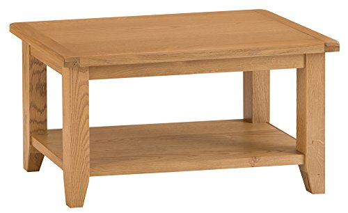 The Furniture Outlet Rustic Oak Small Coffee Table