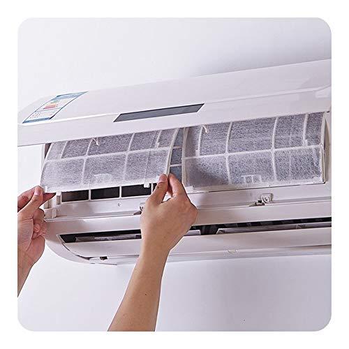 Filtro aria condizionata di ricambio Filtro 2PCS / Lot autoadesivo AC aria respirabile PET purificazione dell'aria Filtro for Wind uscita Hanging filtro dell'aria condizionatore d'aria Durevole