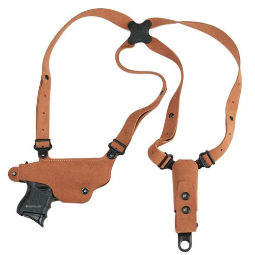 Galco CL225 Classic Lite Shoulder Holster System for Glock 17, 19, 22, 23, 26, 27, 31, 32, 33, 34, 35, 36 (Left-Handed)