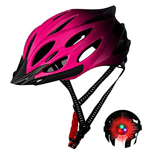 RedKids Aerodynamik Specialized - Casco de bicicleta de montaña con luz LED...