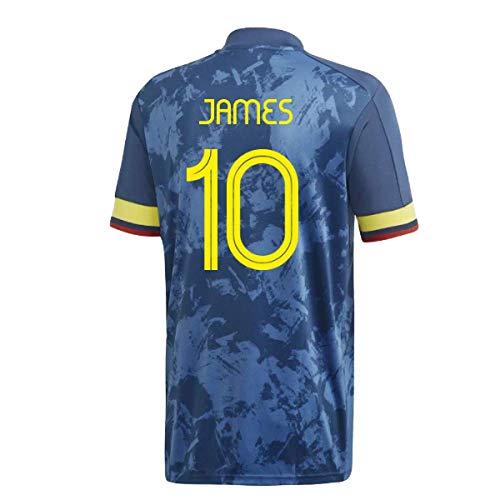 adidas Colombia - Camiseta de fútbol para hombre 2020-21 - James 10 - Talla M