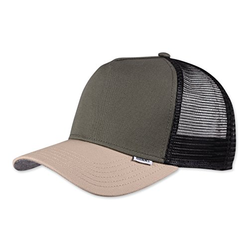 Djinns L-Block (olive) - Trucker Cap Meshcap Hat Kappe Mütze Caps