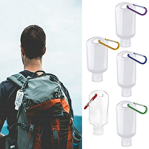 (50% OFF) 5 Pack Refillable Containers for Hand Sanitizer $4.00 – Coupon Code