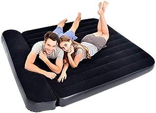 Inflable Cama Doble Familia Espesado Lazy un colchón de Aire de la Cama Tienda al Aire Libre Solo colchón portátil Almuerzo Cama (Size : 203 * 183 * 34cm)