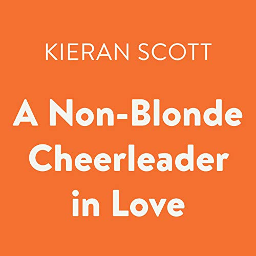 A Non-Blonde Cheerleader in Love audiobook cover art