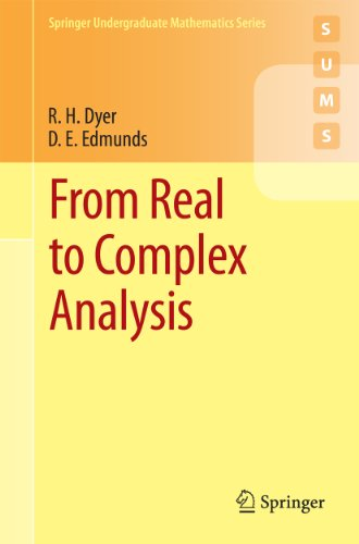 From Real to Complex Analysis (Springer Undergraduate Mathematics Series) (English Edition)