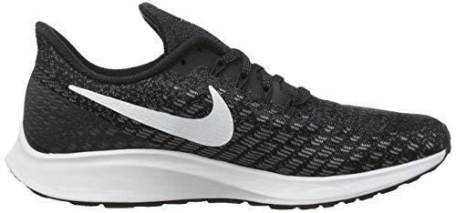 Nike Men's Air Zoom Pegasus 35 Running Shoe, Black/White/Gunsmoke/Oil Grey, 8.5 7