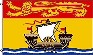 New Brunswick 3x5 Polyester Flag