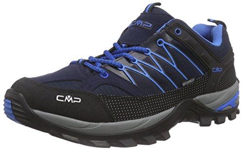 CMP - F.lli Campagnolo Herren Rigel Low Trekking-& Wanderhalbschuhe, Blau (Black Blue N950), 41 EU