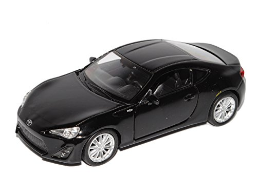 Welly Toyota GT86 Coupe Schwarz Ab 2012 ca 1/43 1/36-1/46 Modell Auto