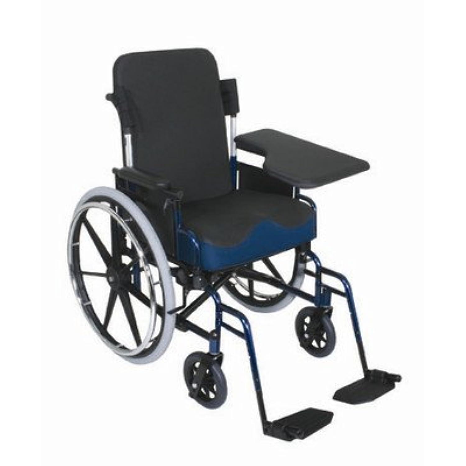Flip-Up Half Wheelchair Lap Tray Type: Slide On, Side: Left
