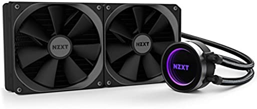 NZXT Kraken X62 All-in-One CPU Liquid Cooling System Cooling, Black RL-KRX62-01