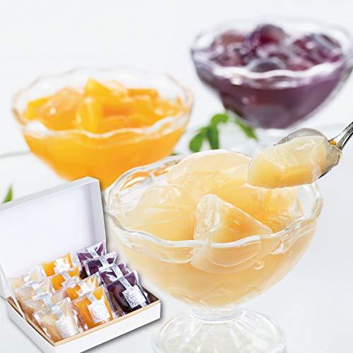 【Patico】ごろっと果実入り フレッシュフルーツゼリー 12個入り 詰め合わせ 個包装 ギフト お取り寄せ 手土産 敬老の日