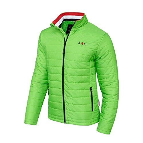 AC by Andy Hilfiger Winterjacke H6 (Modell: G25 - Herren, grün; Größe: M) FBA