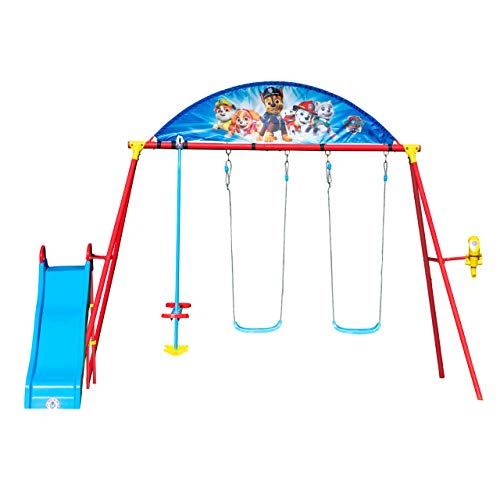 Swurfer Paw Patrol Classic Swing Set with Glider (SWPPSS-G)