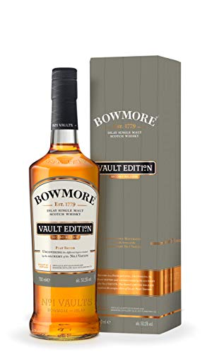 Bowmore Vault Edition Second Release Islay mit Geschenkverpackung  Single Malt Whisky (1 x 0.7 l)