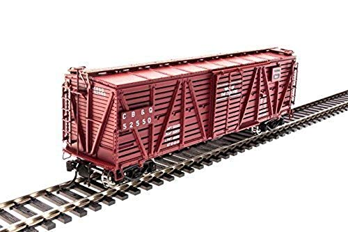 Broadway Limited 2685 HO Scale Scale Stock Car, CB&Q (4)
