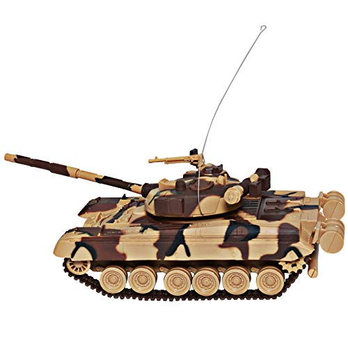 New Ray 87533 RC 1:32 Heavy Metal Panzer T80, 27 MHz