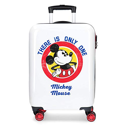 Maleta de cabina Mickey Magic only one rígida 55cm