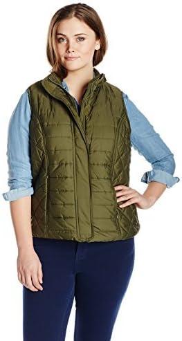 Big Chill Women's Plus-Size Puffer Vest