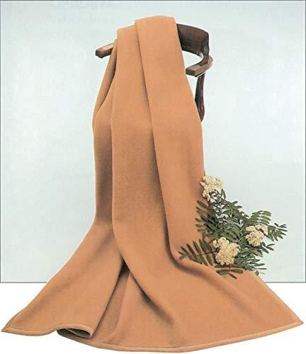 STEINBECK Decke Algier aus 100% Kamelhaar, Farbe Kamel in Zwei Größen, 150x200 cm Gewicht 2000 g