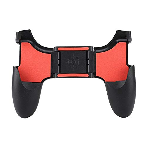 Ciglow Mobile Phone Game Controller, Game Handle for Smartphone Ergonomic Design Game Grip Comfortable Fast Shooting with Bracket