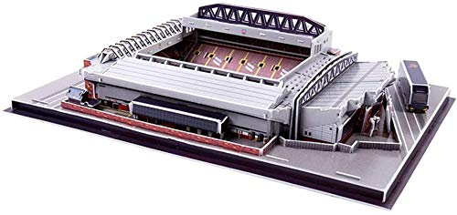 Gaojian Fußballstadion 3D Puzzle, Construction Spielzeug Football Club Home Model for Children