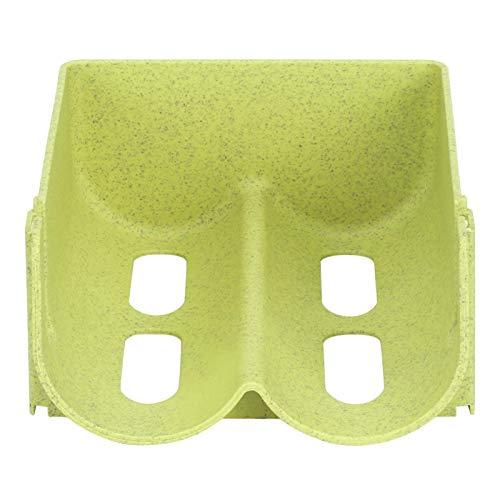 Vipxyc Can Rack Organizer Refrigerador Organizador para apilar Botellas Can Storage Rack para gabinetes de Cocina(Green)