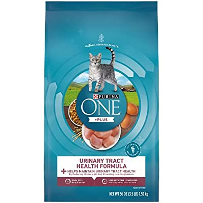 Purina ONE High Protein Dry Cat Food, Urinary Tract Health Formula - 3.5 lb. Bag
