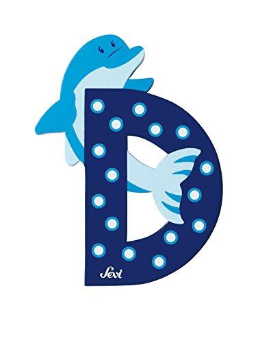 Trudi 81604 - Buchstabe Delphin D