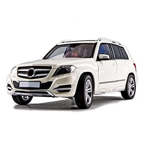 JKSM Coche Modelocinc 1:18 para Mercedes GLK Vehículo Todoterreno Aleación Retro Modelo De Coche Clásico Modelo De Coche Decoración Colección Niños Regalo