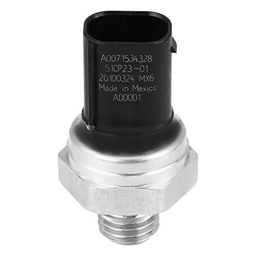 SANON Interruptor del Sensor de Presión de Combustible del Escape del Coche de Plástico Y Metal Abs para W169 W245 A0071534328